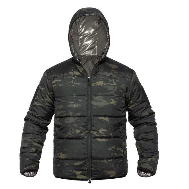 High Fashion Camouflage Winter Jacket