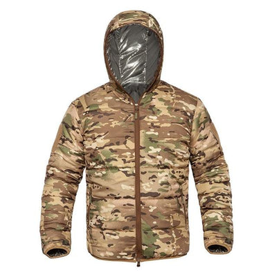 High Fashion Camouflage Winter Jacket Streetwear Clothing Raikago