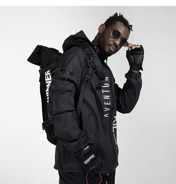 """Intention"" Techwear Windbreaker Jacket"