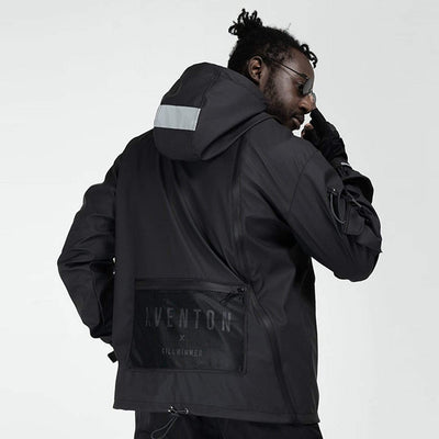 """Intention"" Techwear Windbreaker Jacket Streetwear Clothing Raikago"