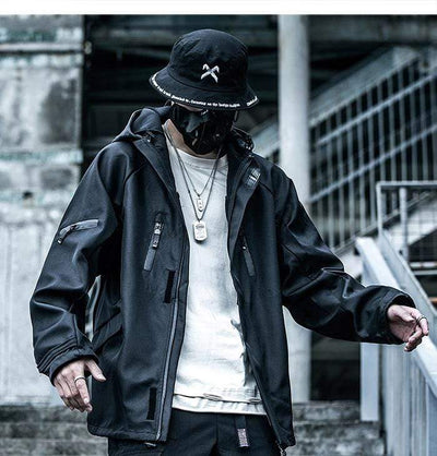 """Inversion"" Techwear jacket Streetwear Clothing Raikago"