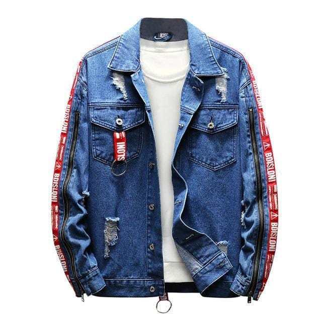 """Aita"" Denim Blue Jacket"