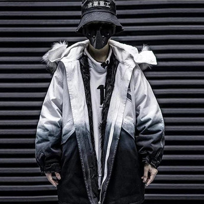 """Jawbreaker"" Streetwear Winter Coat Streetwear Clothing Raikago"