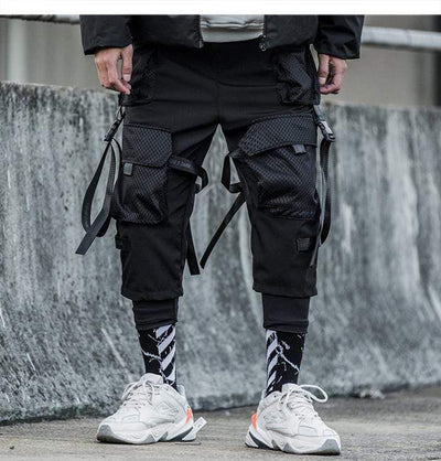 Joggers Track Streetwear Men Hip Hop Pants Techwear Streetwear Clothing Raikago