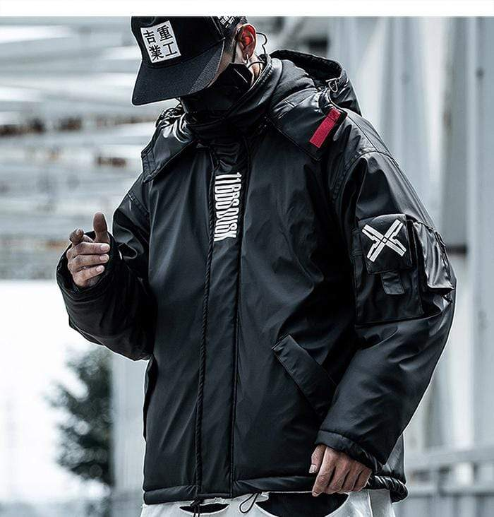 Techwear Leather Jacket