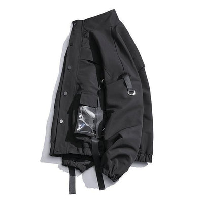 Military Techwear windbreaker Streetwear Clothing Raikago