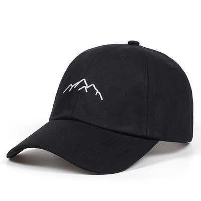"""Mountain range"" Hat Streetwear Clothing Raikago"