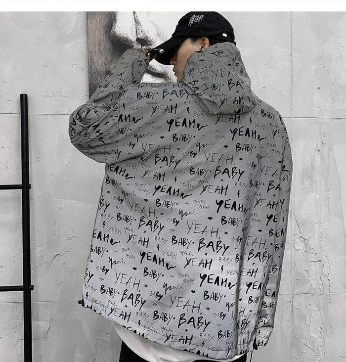 """Nerves"" Streetwear Reflective Jacket"