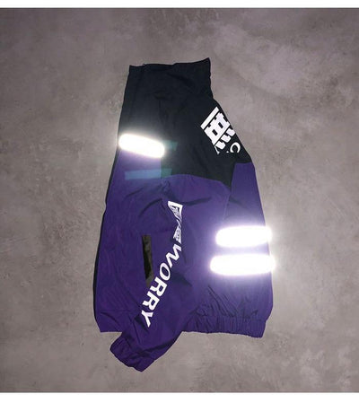 Reflective Techwear windbreaker Streetwear Clothing Raikago