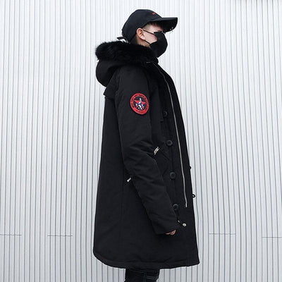"""SLM"" Coat Streetwear Clothing Raikago"