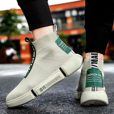 'Sokkusu' Form Fitting Sneakers for Men Streetwear Clothing Raikago