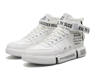"""Sokudo"" High Top Sneaker Streetwear Clothing Raikago"