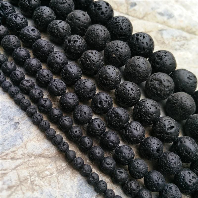 """Dragon Force"" Volcanic Stone Bracelet"