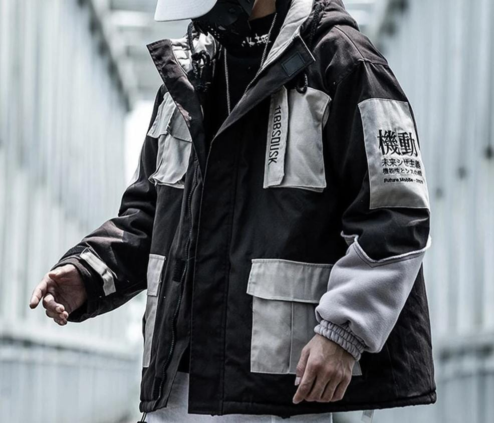 Streetwear Winter Coat Streetwear Clothing Raikago