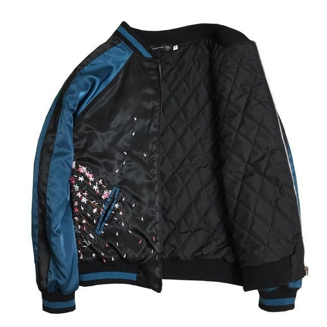 Sukajan Blue-black Jacket