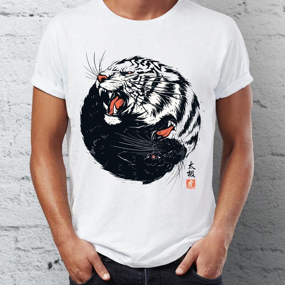 """Taichi Tiger"" Graphic T-Shirt Streetwear Clothing Raikago"