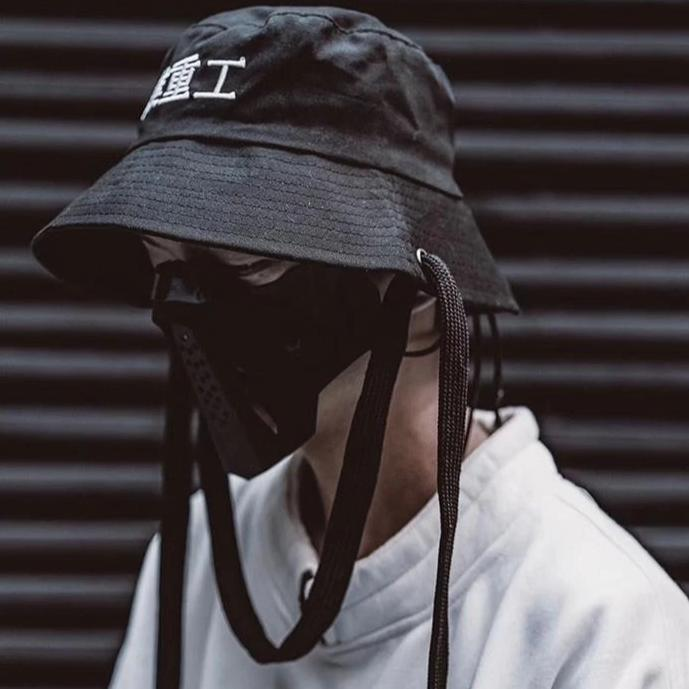 Techwear Bucket Hat Streetwear Clothing Raikago