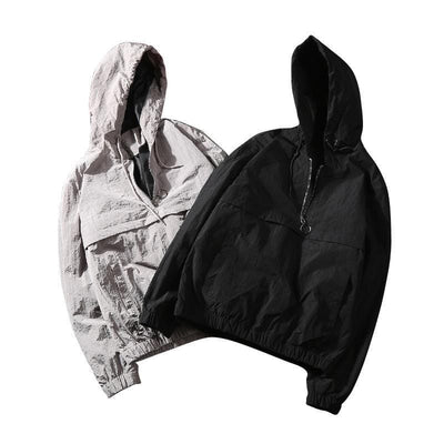 Techwear Hooded windbreaker Streetwear Clothing Raikago
