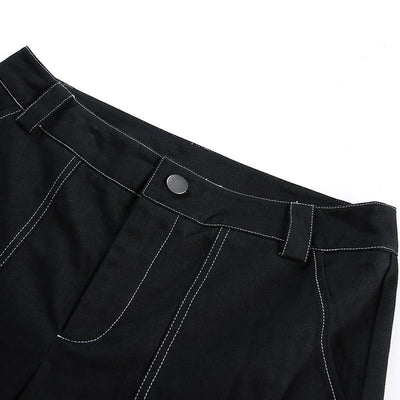 """Tōri""Women's Lace Up Pants Streetwear Clothing Raikago"