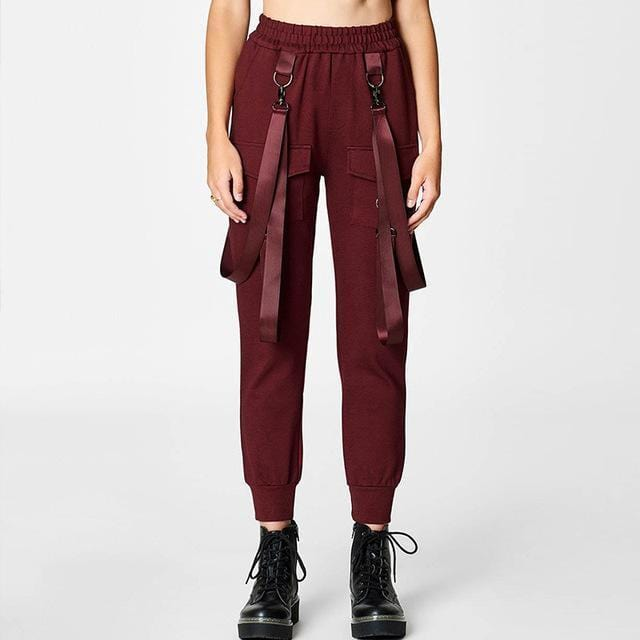 """Yasashī""  High Waisted Joggers"
