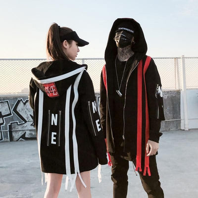 """Zipp"" High Fashion Streetwear Jacket Streetwear Clothing Raikago"