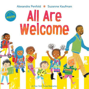 Book Cover of diverse children arriving at school