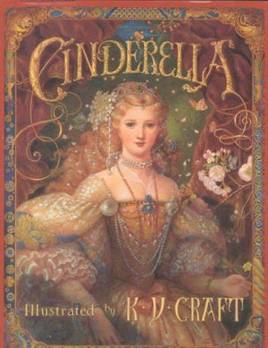 Book Cover of Cinderella in beautiful dress