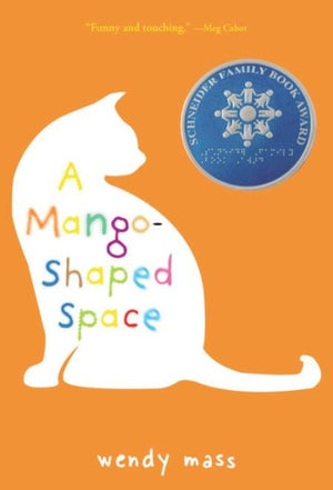 Book cover of a white cat against orange background