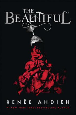 Book cover with pewter chalice pouring red rose petals