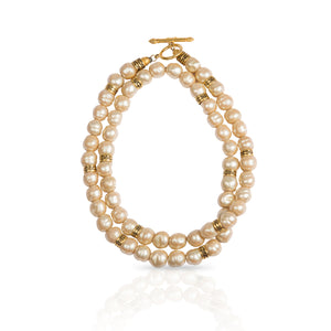 Vintage Fendi Baroque Pearl Necklace