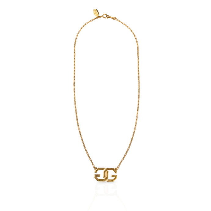 Vintage Givenchy 'G' Necklace