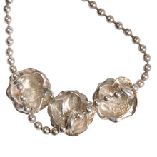 Load image into Gallery viewer, Vintage Kenzo Three Roses Necklace