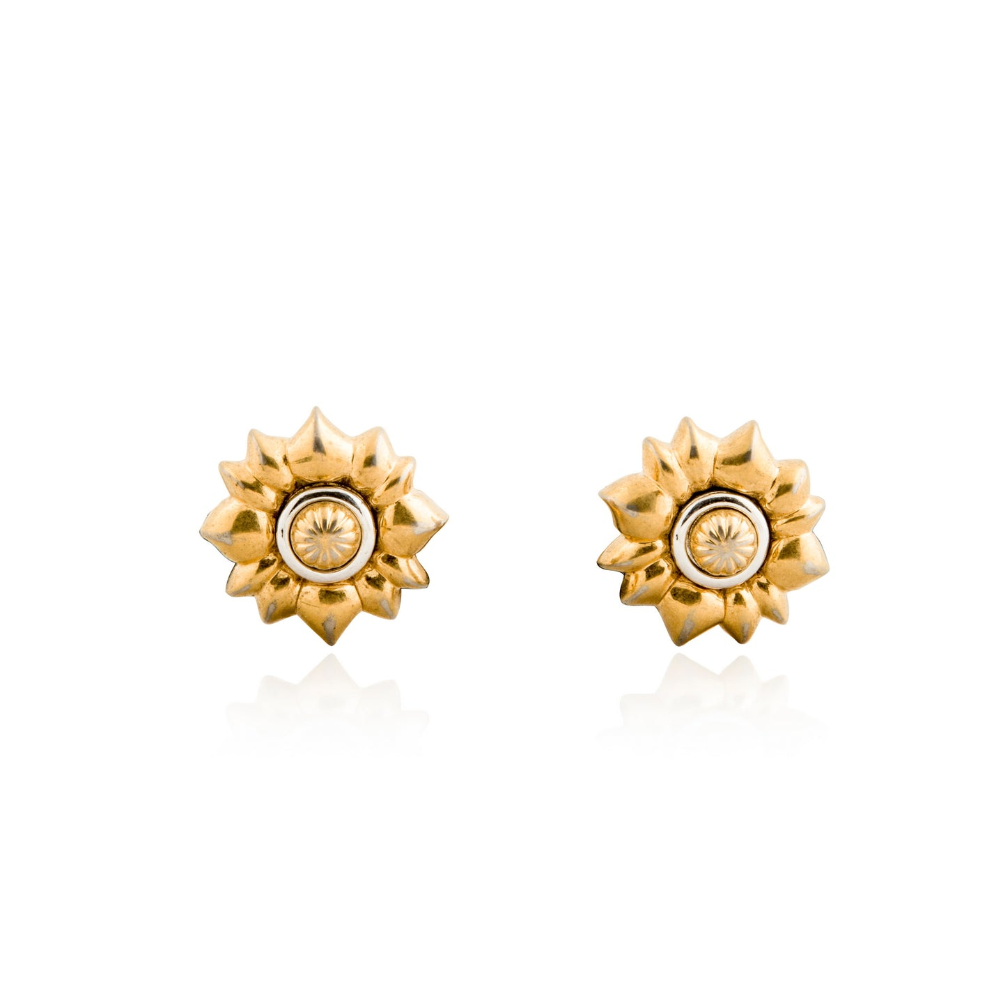 Vintage Nina Ricci Flower Earrings