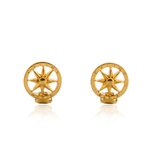 Load image into Gallery viewer, Vintage Celine Star Earrings