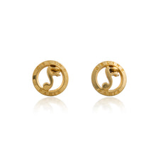 Load image into Gallery viewer, Vintage Celine Music Sign Earrings