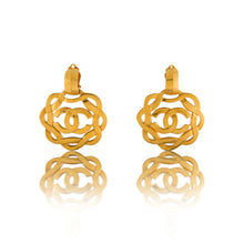 Load image into Gallery viewer, Vintage Chanel Statement CC Earrings