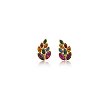 Load image into Gallery viewer, Vintage YSL Leaf Earrings