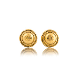 Vintage Chanel CC Earrings