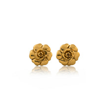 Load image into Gallery viewer, Vintage Chanel CC Flower Earrings