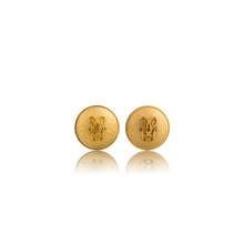 Load image into Gallery viewer, Vintage Guerlain Logo Earrings