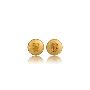 Vintage Guerlain Logo Earrings