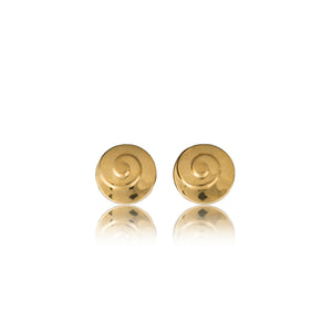 Vintage Pierre Balmain Candy Swirl Earrings