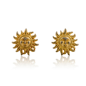Vintage Versace Sun Earrings