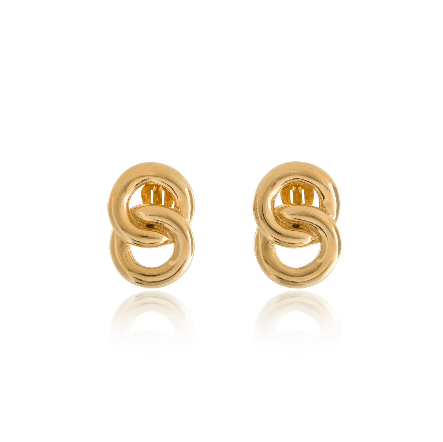 Vintage Givenchy Link Earrings