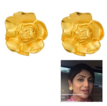 Load image into Gallery viewer, Vintage Kenzo FLower Logo Earrings