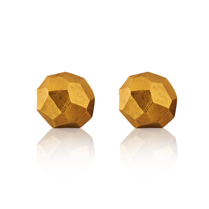 Vintage Lanvin Chunky Geometric Earrings