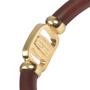 Vintage Salvatore Ferragamo Gancini Bangle