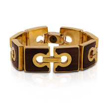 Load image into Gallery viewer, Vintage Salvatore Ferragamo Gancini Bracelet
