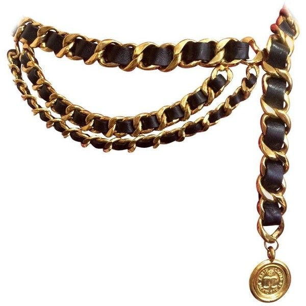 Vintage Chanel Three Layered Belt/Necklace
