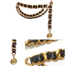 Load image into Gallery viewer, Vintage Chanel Three Layered Belt/Necklace